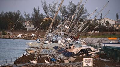 En fotos: Así se ve la destrucción en los Cayos de Florida