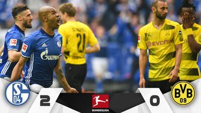 Schalke 04 vence al Dortmund en el derby de Ruhr