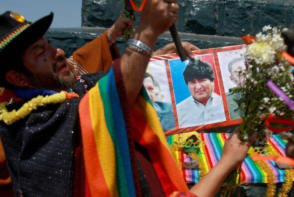 Otro político que tuvo una predicción fue el presidente boliviano Evo Mo...