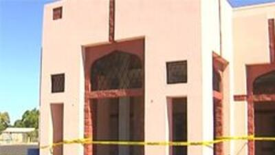 Mesquita donde ocurrio el vandalizmo