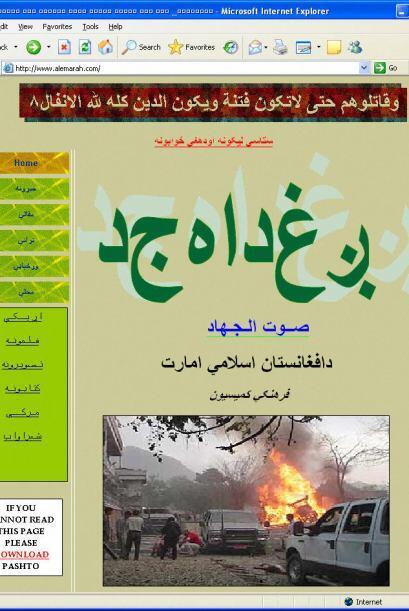 Los sitios web islámicos apelan a los sentimientos antioccidentales para...