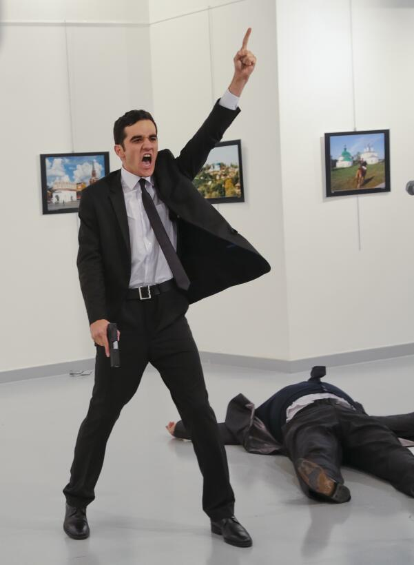 Asesinato Embajador Rus0