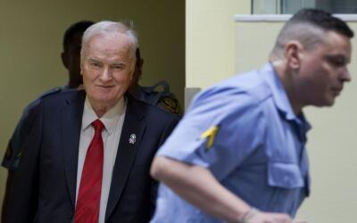 Ratko Mladic es considerado uno de los peores criminales de guerra del p...