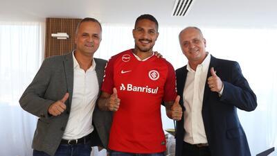Paolo Guerrero es el nuevo refuerzo del Inter de Porto Alegre