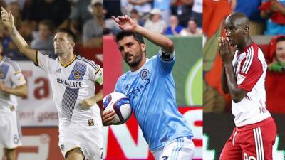 Robbie Keane, David Villa y Bradley Wright Phillips, goleadores en buena...