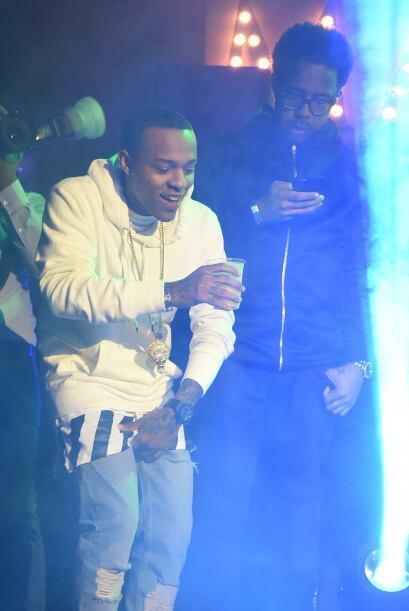 El rapero Bow Wow asistió a la fiesta de Maxim.