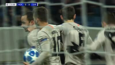 ¡Goool del Shakhtar! Ismaily abre el marcador ante el Hoffenheim