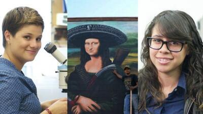 Las Becas Univision. las mujeres científicas y mentoras, y el muralista...