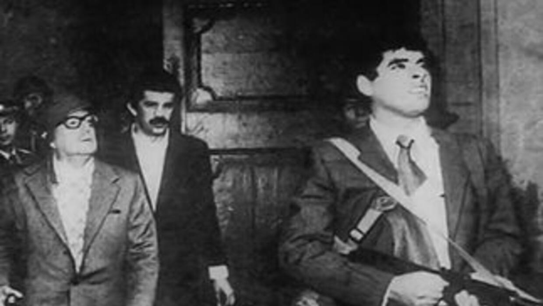 Salvador Allende cayó en un golpe de estado en 1973, encabezado por el g...