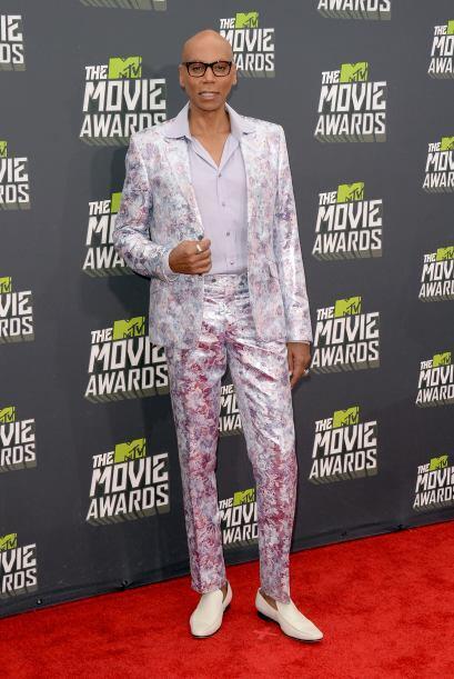 Si de llamar la atención se trata, el modelo y actor, RuPaul sabe cómo h...