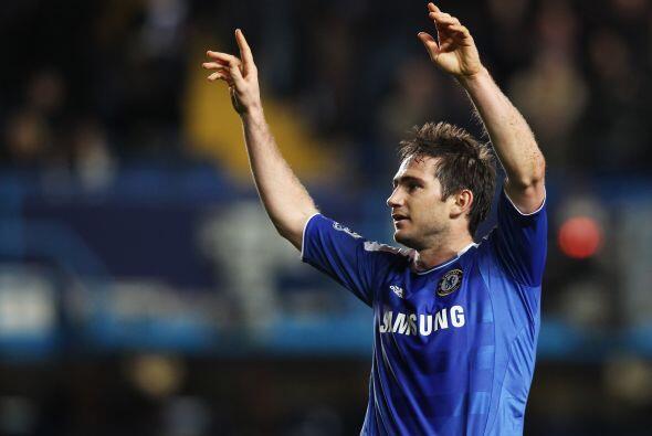 Y pasamos con otra figura del balompié inglés, Frank Lampard. El jugador...