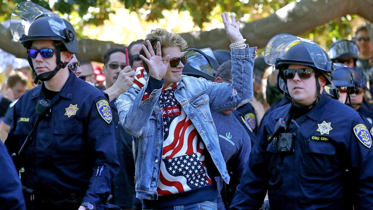 Protesta Milo Berkeley