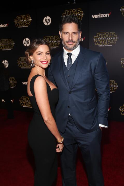Los famosos disfrutaron del estreno de la esperada 'Star Wars: The Force...