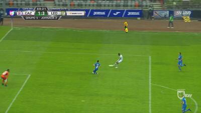 El 4-1 de León sobre Cruz Azul estuvo muy cerca