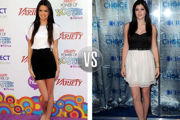 La mamá de este par, Kris Jenner, ha sido criticada por dejar vestir a s...