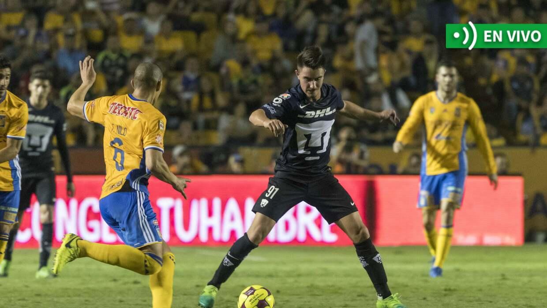 Tigres vs. Pumas en vivo Apertura 2017.