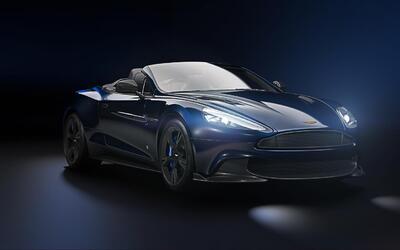 Aston Martin Vanquish S Tom Brady Signature Edition