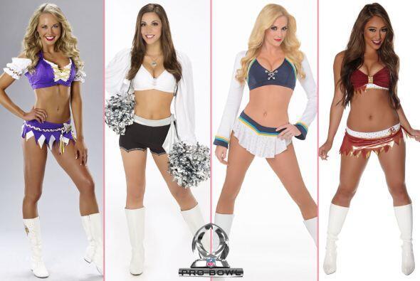 Las porristas de la NFL también compiten para ser una cheerleader...