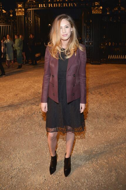 Model Dylan Frances Penn attends the Burberry 'London in Los Angeles...