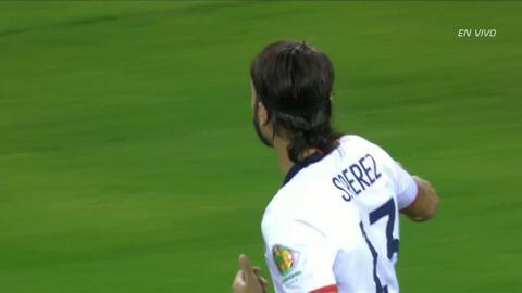 Goooolll!!! Sebastián Pérez Cardona anota su penalti para el Colombia