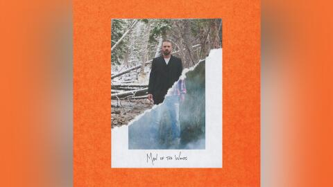 Justin Timberlake appears on the front cover for his upcoming album, 'Ma...