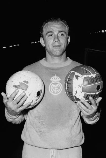 El gran Don Alfredo Di Stéfano tiene una historia singular con Boca y Ri...