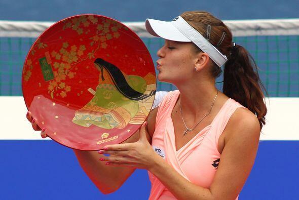 Agnieska Radwanska se impuso a Vera Zvonareva en la final del torneo de...