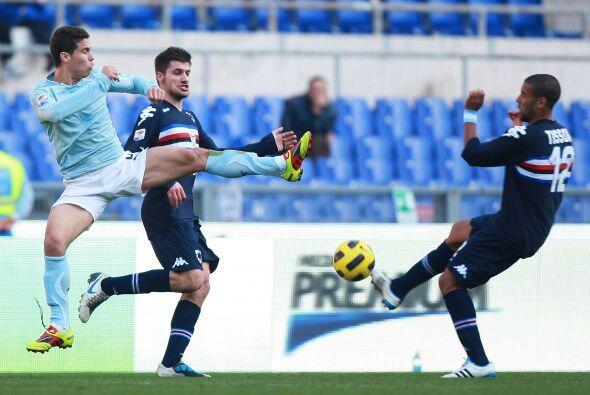 El equipo de la capital recibió a la Sampdoria.