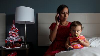 La vida en hoteles de Florida de boricuas huidos de Puerto Rico tras el huracán María (fotos)