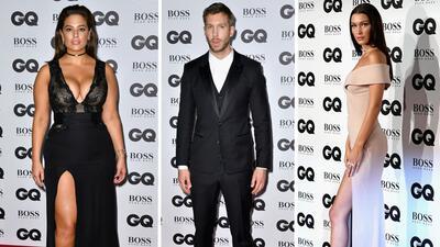 Sensualidad y glamour en la alfombra roja de los premios GQ