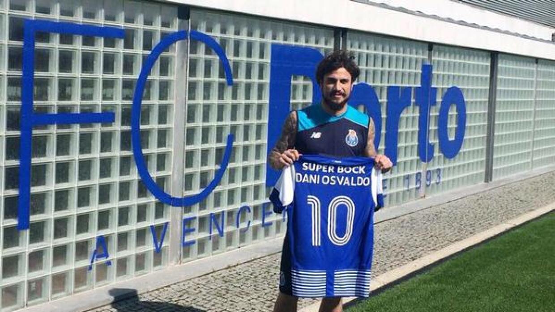 El italoargentino es el nuevo centro delantero de los Dragones de Oporto.