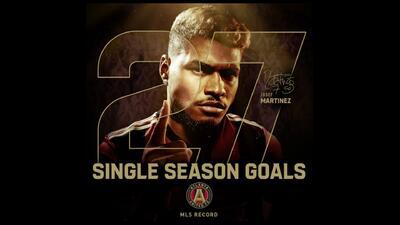 Historia con sello venezolano: Josef Martínez empata marca de goles en una temporada de MLS