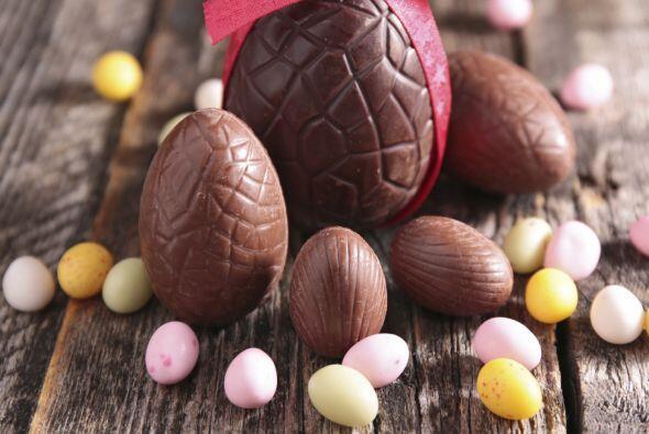 Descubre algunos trucos para comer huevos de chocolate, sin lamentarte d...