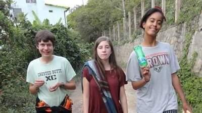 Las fotos de Malia Obama en Bolivia y Perú