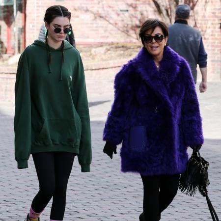 Kendall y Kris Jenner
