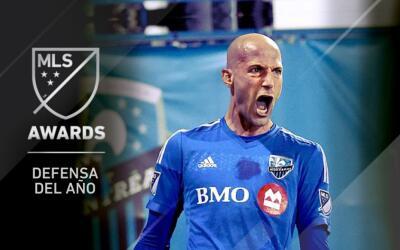 Laurent Ciman, defensa del año en la MLS