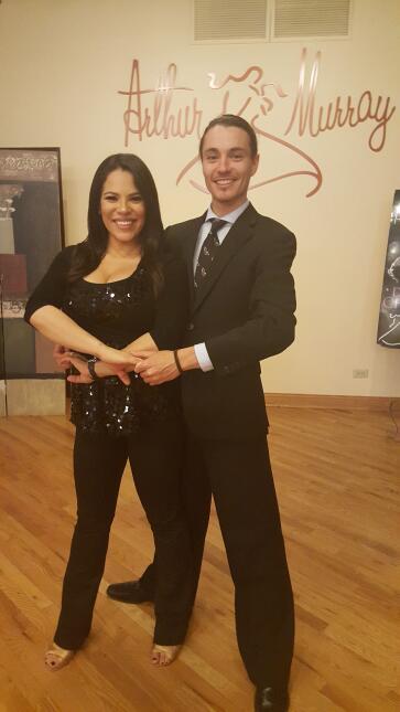 Ericka Pino Dancing with Celebrities