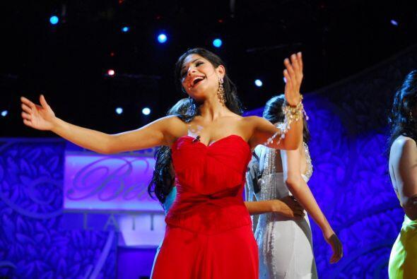 Fue durante su participación en la primera temporada de Nuestra Belleza...