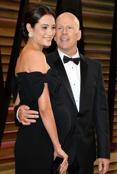 Bruce Willis y Emma Heming parecen dos adolescentes enamorados.