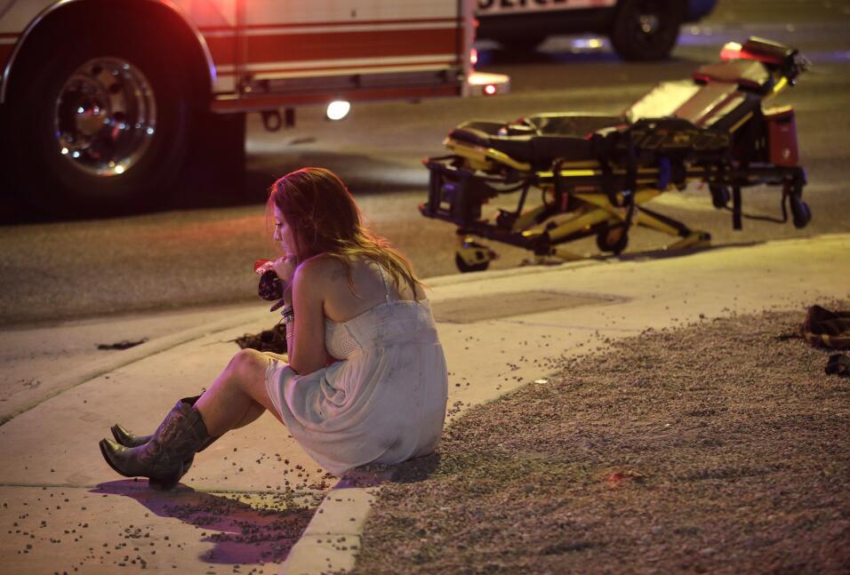 Tiroteo en Las Vegas. Un hombre mató a tiros a 59 personas e hiri...