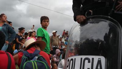La batalla cuesta arriba de EEUU para detener el flujo migratorio desde el Triángulo Norte
