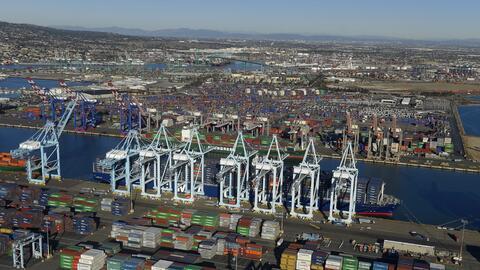 Puerto de Los Ángeles-Long Beach.