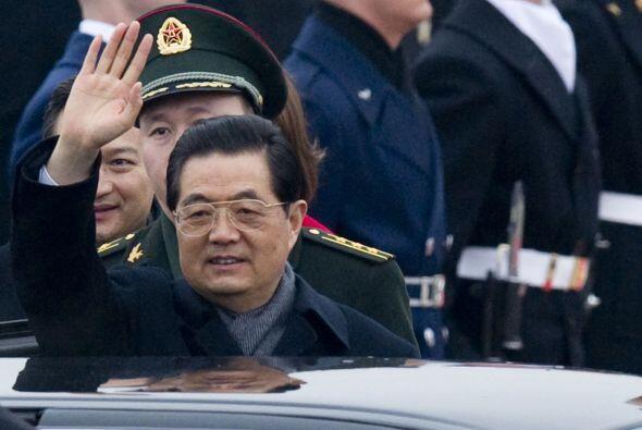 China: El vehículo oficial del presidente Hu Jintao es un Red Flag HQE,...