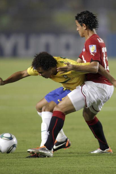 Brasil comenzó a caer en su nivel y parecía que podría perder el partido.