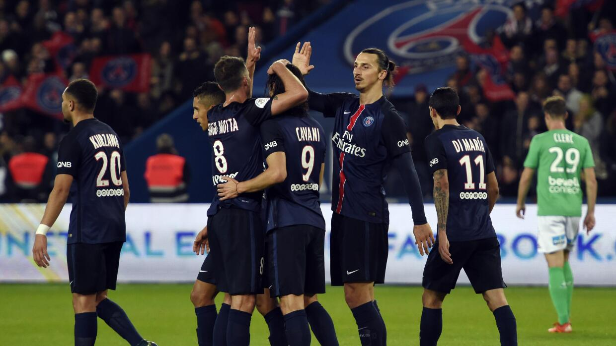 PSG vs. Saint Etienne