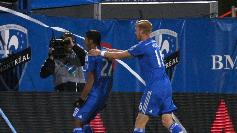 Johan Venegas marcó el gol del triunfo para el Impact.