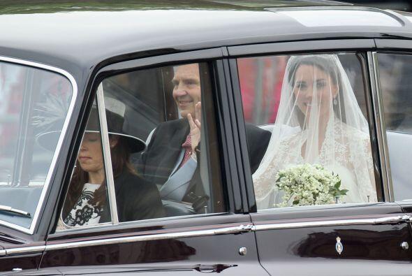 Las primeras imágenes de la novia desataban la locura en la Abadía.
