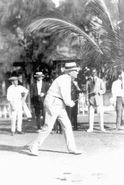 Harding en Miami Beach