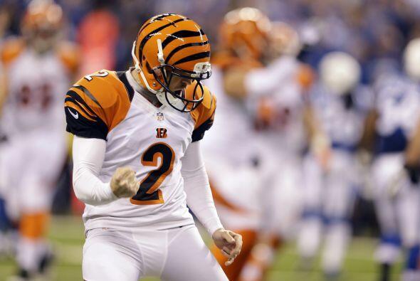 21.- Cincinnati Bengals (AP-NFL).