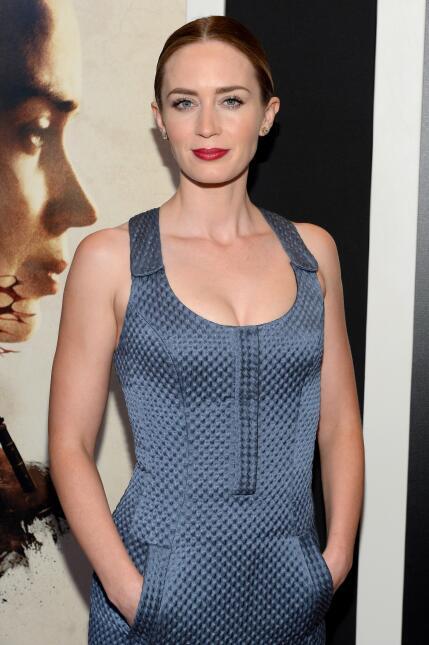 Emily Blunt, Josh Brolin y Benicio del Toro estrenan 'Sicario'.